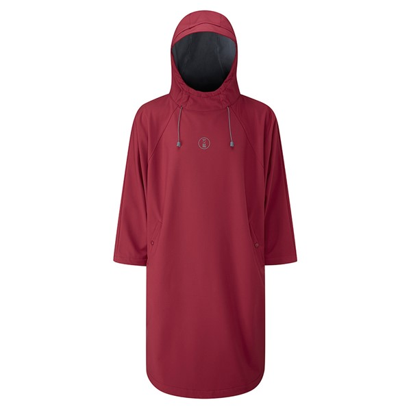Bild von Fourth Element Storm Poncho Rot