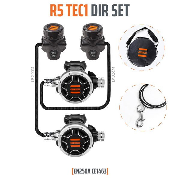 Bild von TecLine - REGULATOR R5 TEC1 DIR SET - EN250A
